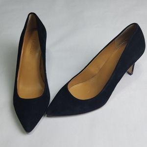 JCrew black high heels